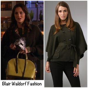 """Diane Von Furstenberg DVF """"Abbe"""" sweater coat S"""